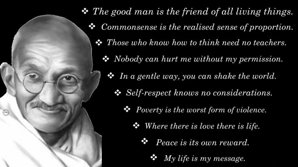 Interesting Gandhi Facts Inspired By Biography Of Mahatma ...