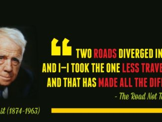 Robert Frost Quotes The Road Not Taken