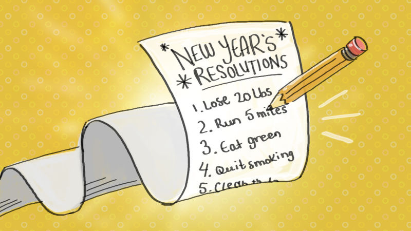 New Year Resolutions: Recycling and Good Grades