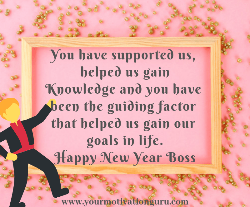 Happy New Year Wishes To Boss, Colleagues and Employees