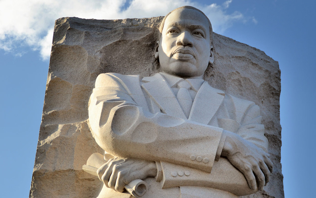30-foot statue on the National Mall, The Martin Luther King, Jr. Memorial,