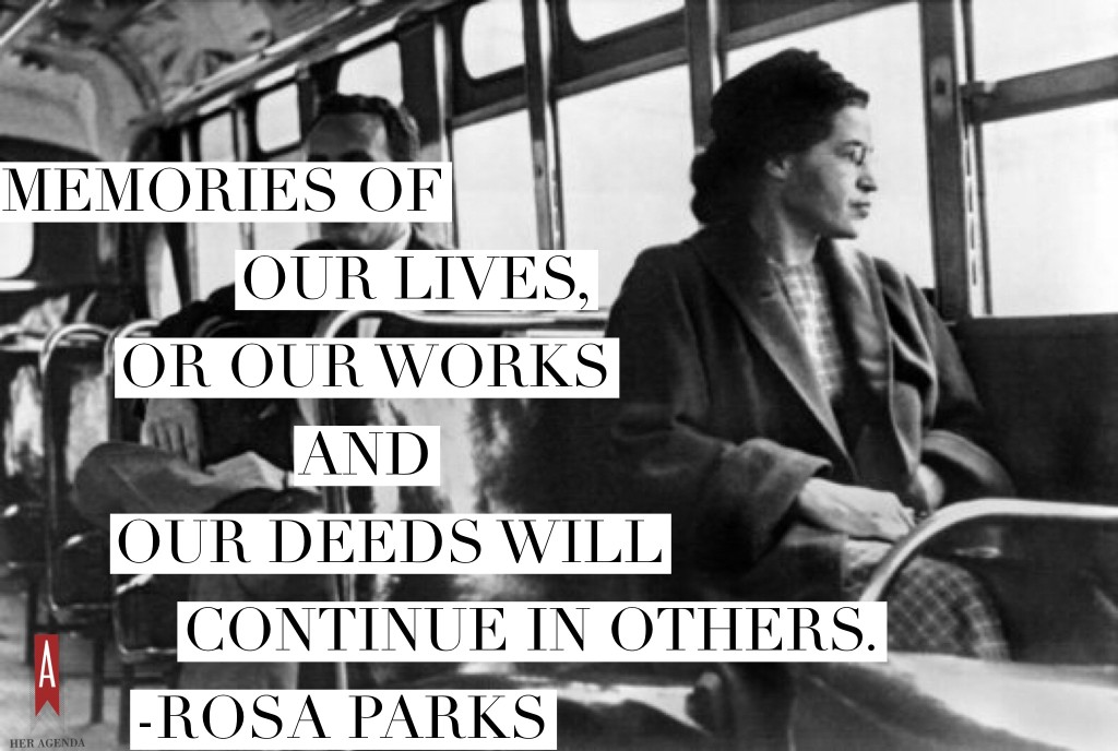 Rosa parks inspirational quotes