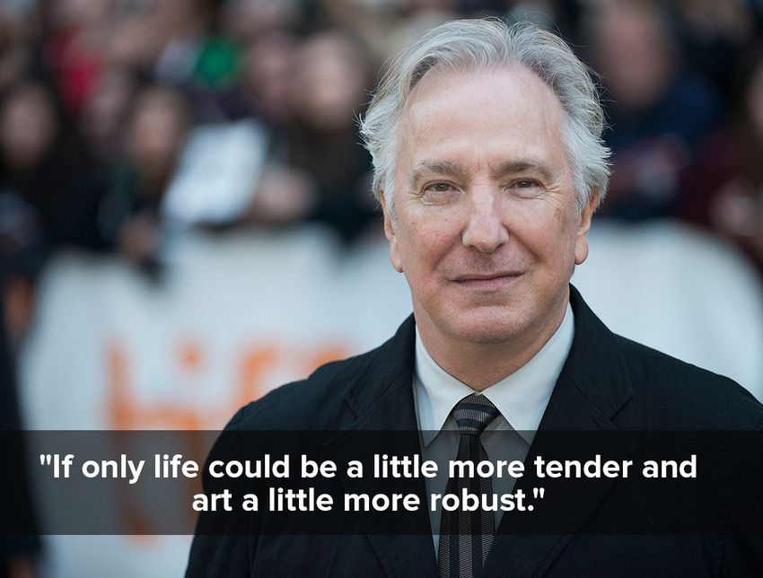 inspiring quotes by Alan Rickman 4