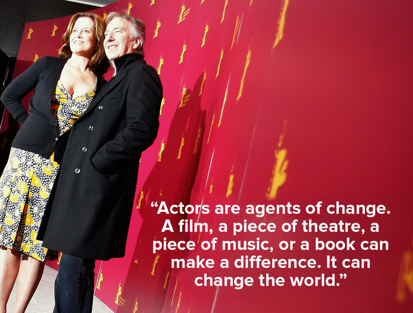 inspiring quotes by Alan Rickman 5