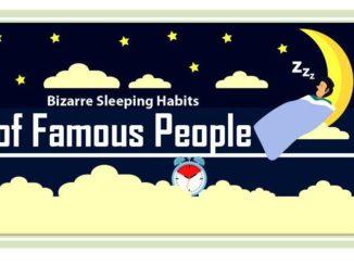 Bizarre Sleeping Habits of Famous Individuals