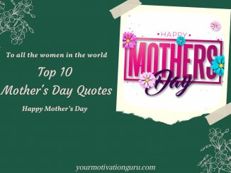 Heart Touching Mothers Day Quotes, mothers day inspirational quotes, mothers day wishes