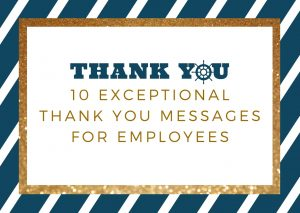 10 Exceptional Thank You Messages for Employees