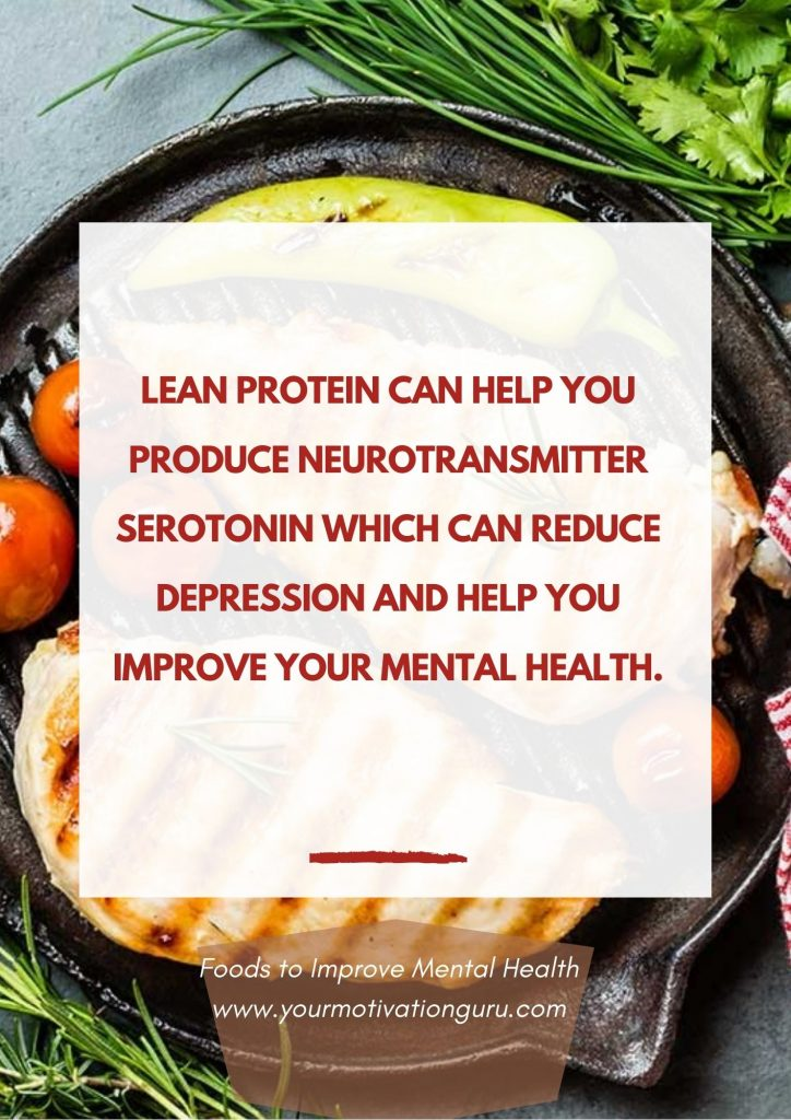 Foods to Improve Mental Health - lean protein