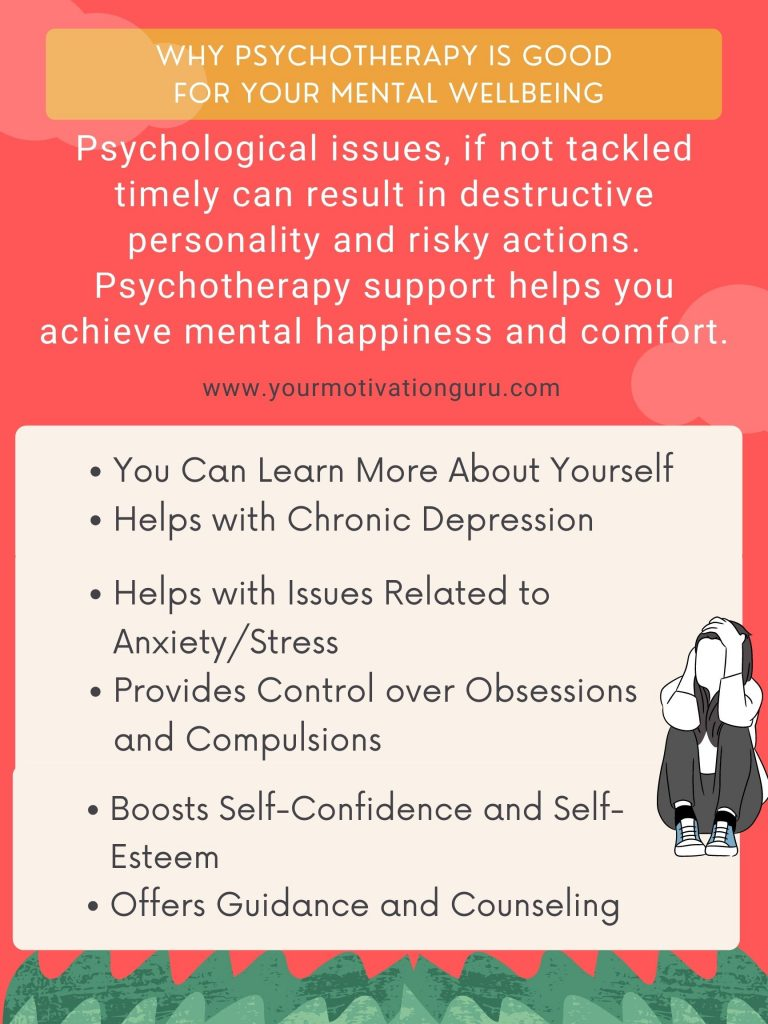 6 Reasons Why Psychotherapy Is Good For Your Mental Wellbeing