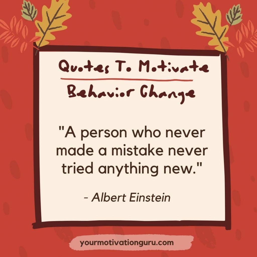 25 Quotes To Motivate Behavior Change